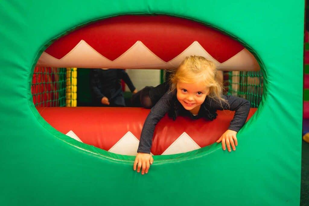 Paignton Zoo Jungle Fun indoor play area